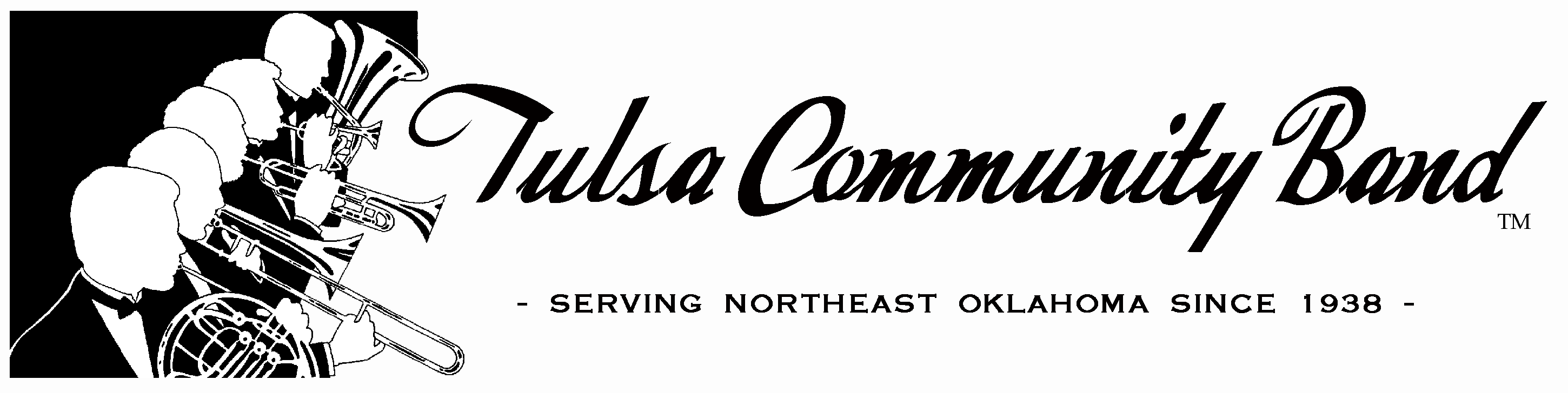 Tulsa Community Band Logo Header