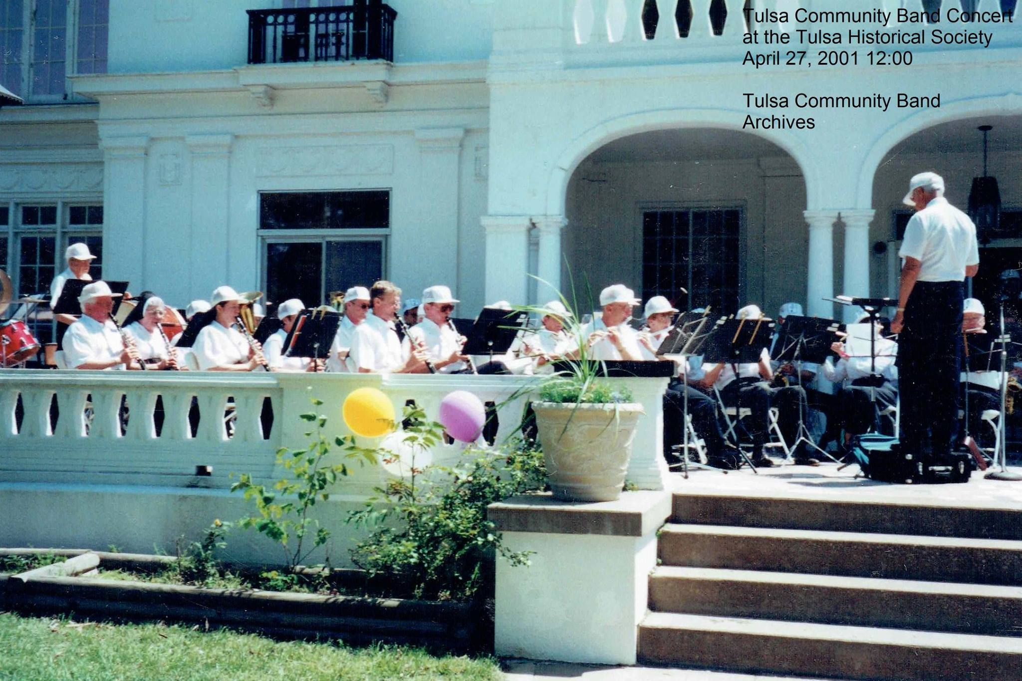 TCB at                                                   Tulsa Historical                                                   Society, Dwight Dailey                                                   conducting. 2001